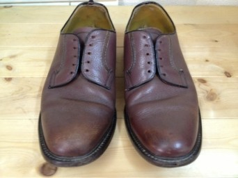 リーガル プレーン メンズ 靴 擦れ 修理