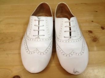 パンプス 靴 擦れ 傷 削り 修理