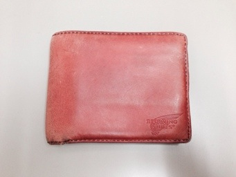 REDWING 洗濯した財布の修理をご依頼