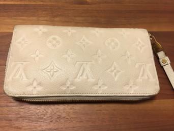 ルイ・ヴィトンのお財布のカラーチェンジのご紹介です。
