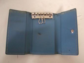 【ゴヤール】キーケースの染め直し、縫製、フックの交換