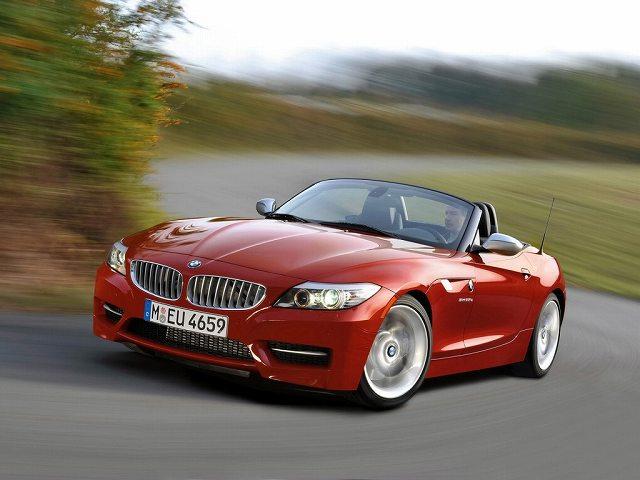 BMW Z4内装カラーチェンジ