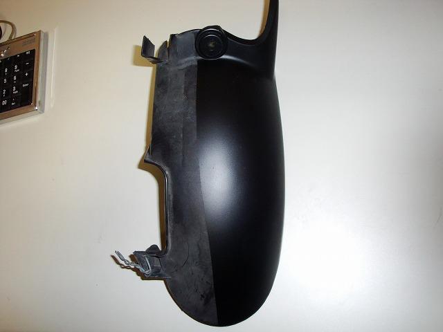 バイク用樹脂製品のトップコーティング加工