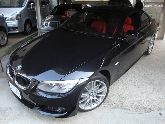BMW320iクーペの内装カラーチェンジ※手直し施工