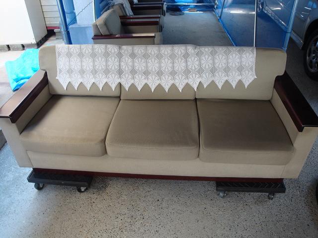 布製ソファーのクリーニング事業始めました