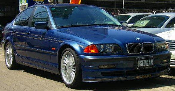 BMWアルピナB3 3.3リムジン ステアリングハンドル補修